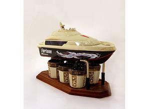 Подарунковий набір для алкогольних напоїв Яхта