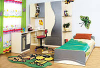 Детская Эколь Стенка с кроватью