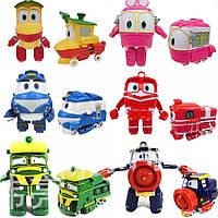 """Роботы Поезда трансформеры """"Robot Trains"""" комплект 6шт, герои мультфильма Робот трейн"""
