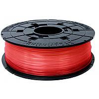 Пластик для 3D-принтера XYZprinting PLA 1.75мм/0.6кг Filament, transparent red (RFPLBXEU02D)