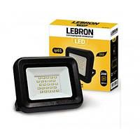 LED прожектор Lebron LF, 20W, 6200K,1600Lm, кут 120°, 170-265V, шт (LEB 00-15-21)