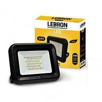 LED прожектор Lebron LF, 30W, 6200K,2400Lm, 120°, 170-265V, шт (LEB 00-15-31)