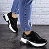 Жіночі кросівки Fashion Zachary 1378 36 розмір 23 см Чорний, фото 2
