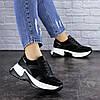 Жіночі кросівки Fashion Zachary 1378 36 розмір 23 см Чорний, фото 3