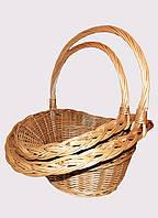 Плетеный цветочный набор корзин