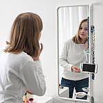 IKEA MOJLIGHET Зеркало, белое, 34х81 см (704.213.75), фото 3