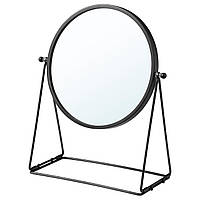 IKEA LASSBYN Настольное зеркало, темно-серый, 17 см (204.590.97)