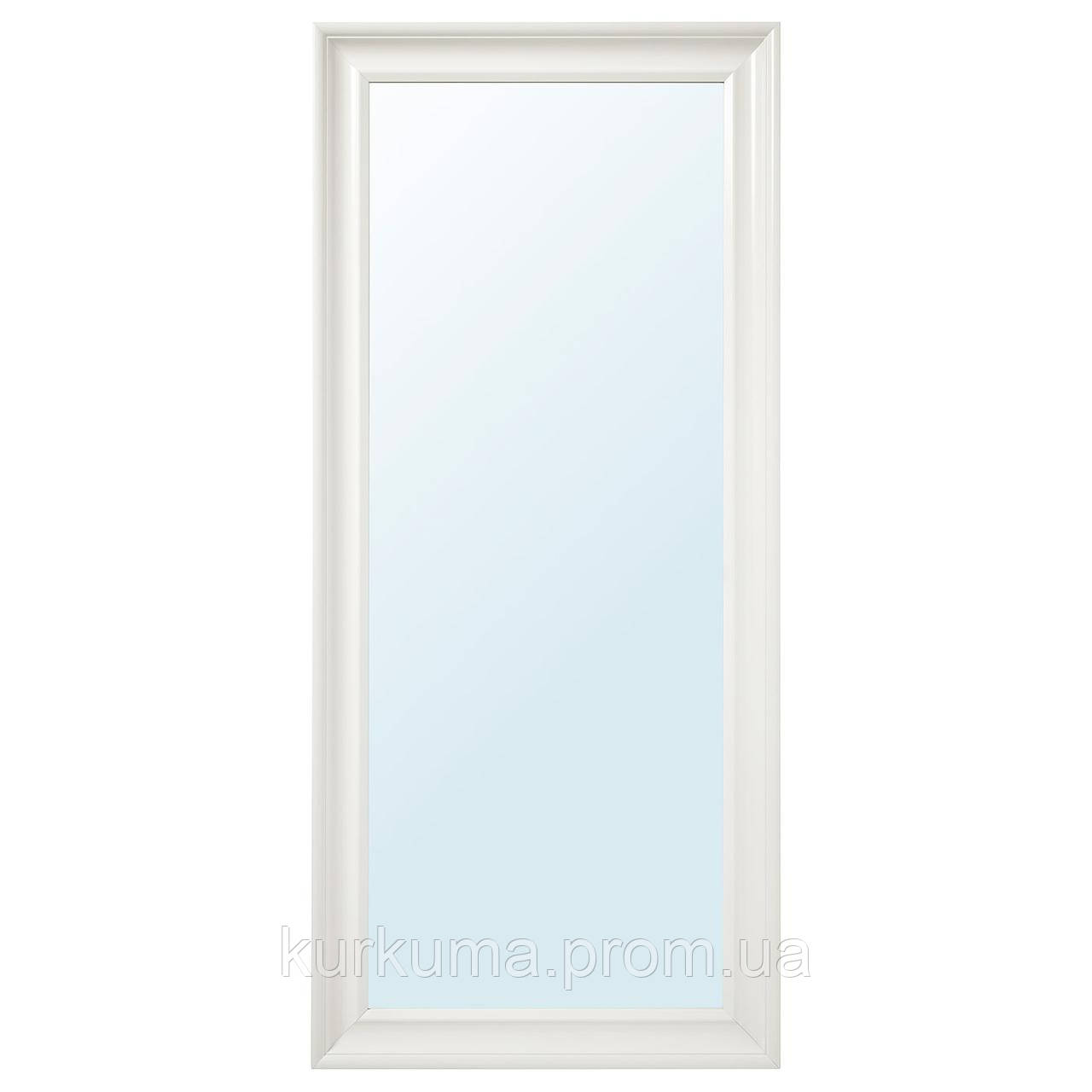 IKEA HEMNES Зеркало, белое, 74x165 см (003.924.99)