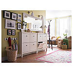 IKEA HEMNES Зеркало, белое, 74x165 см (003.924.99), фото 6