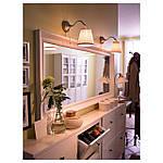 IKEA HEMNES Зеркало, белое, 74x165 см (003.924.99), фото 7