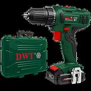 Акумуляторний шуруповерт DWT ABS-12 L-2 BMC