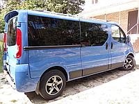 Спойлер Nissan Primastar 2001-2014 Распашной (Стекловолокно)