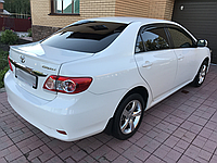 Спойлер Toyota Corolla 2007-2012 Лип (Стекловолокно)