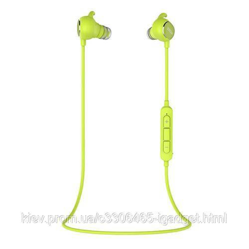 Беспроводные Bluetooth наушники QCY QY19 с автономностью до 5 часов (Зеленый)