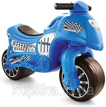 Мотобайк - беговел DOLU синий (8029)