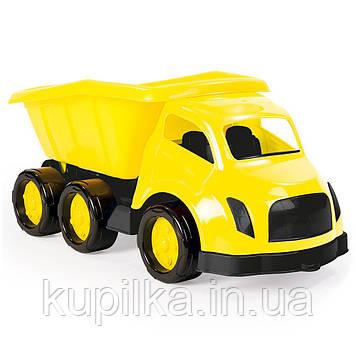 Грузовик DOLU Maxi truck 69 cm желтый (7102)