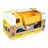 Самосвал DOLU Tipper truck 38 cm жёлтый (7023)