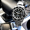 Rolex Submariner AAA Date Silver-Black, фото 4