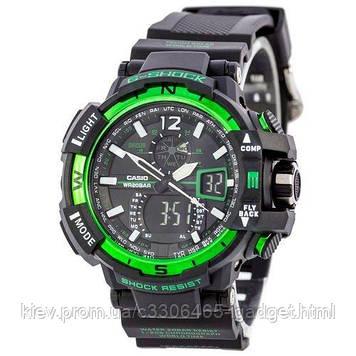 Casio G-Shock GW-A1100 Black-Green