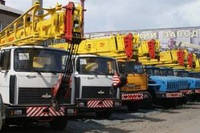Аренда автокрана 14 - 25 тонн. Днепропетровск и область