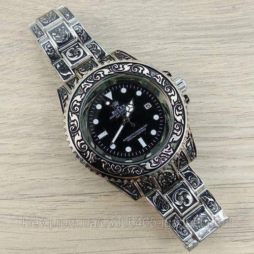 Rolex Submariner Silver-Black