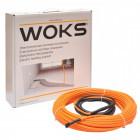 Тонкий нагрівальний кабель Woks 10 125 м / 7,5 м2 - 9,4 м2 / 1250 Вт