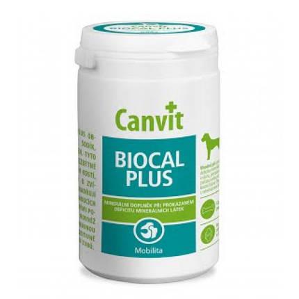 Витаминная добавка Canvit Biocal Plus for Dogs для укрепление иммунной системы для собак, 1 кг, фото 2