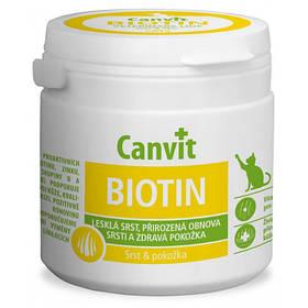 Витаминная добавка Canvit Biotin for Cats для укрепление иммунной системы для кошек, 100 г