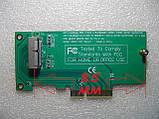 PCI-E x4 - SSD ( 12 + 16 контактів ) MacBook Pro Air перехідник адаптер, фото 6