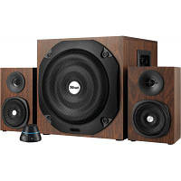 Акустическая система Trust Vigor 2.1 Subwoofer Speaker Set - brown (20244), фото 1