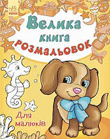 Большая кн. раскрасок (новая) : Для малышей (у) 670013