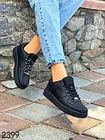 Женские повседневные кроссовки черные со сменными шнурками р40,41