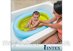 "Бассейн детский Intex 48421, ""Baby Bath Tube Set"" 86*64*23 см"