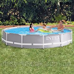 Intex 26710, каркасный бассейн  Prism frame pool, 366*76см