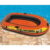 """Надувная двухместная лодка Intex """"Explorer"""", 58356, 196х102х33см"""