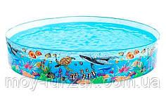 """Детский каркасный бассейн """"Океанский риф"""", Intex 58472 NP, 244*46см"""