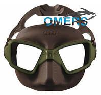 Маска Omer ZERO 3 Olive для подводной охоты
