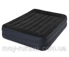 Надувная кровать Intex со встроенным насосом, 64124, 203*152*42см