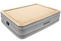 Кровать надувная Bestway с встроенным электрическим насосом, 67486, 203*152*46см
