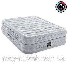 Кровать надувная Intex Supreme Air-Flow Bed с встроенным электрическим насосом, 64490, 203*152*51см