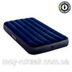 Матрас надувной Intex Classic Downy Airbed Fiber-Tech, 64757, 191*99*25см