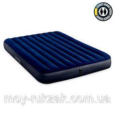 Матрас надувной Intex Classic Downy Airbed Fiber-Tech, 64759, 203*152*25см