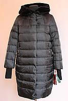 Шикарное зимнее пальто-пуховик