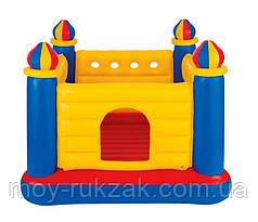 Детский надувной игровой центр - батут, замок Intex 48259, 175*175*135см