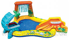 """Детский надувной игровой центр """"Динозавры"""", Intex 57444 NP, 249*191*109см"""