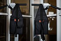 Петли Береша атлетические подвесные B3, с ручками для тяги и отжиманий черные