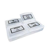 Органайзер для таблеток (таблетница) на 4 секции, Irak Plastik