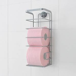 Держатель для туалетной бумаги 13х13х34 см. металлический METALTEX (404810)