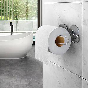 Держатель для туалетной бумаги настенный 15х9х6 см. металлическмй METALTEX (402718)