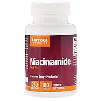 Ниацинамид (В3) 250 мг, Jarrow Formulas, 100 капсул